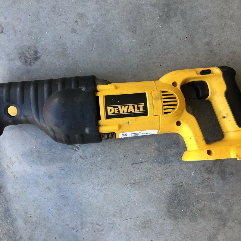 Cordless Recip Saw.