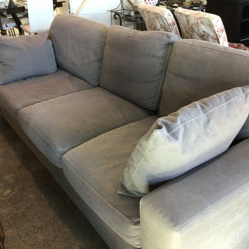 Gray Sofa, Gray, 3 Seater<br /> 102' wide