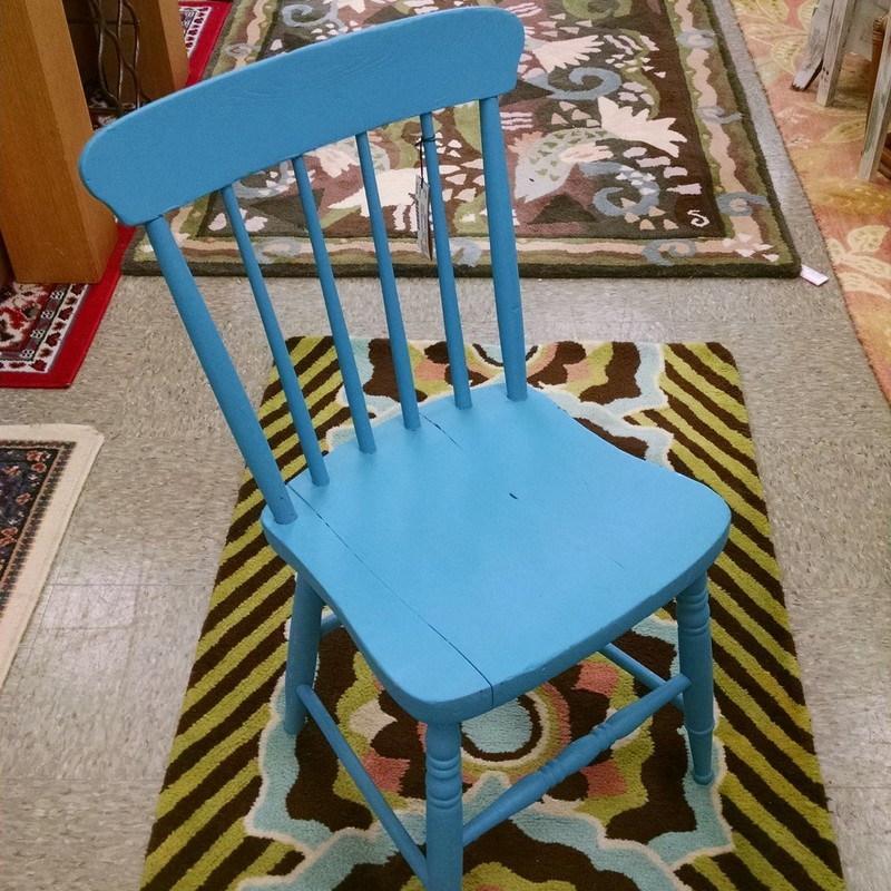 Petite Painted Wood Chair