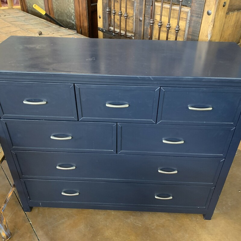 "Blue Dresser<br /> <br /> 42Hx52Wx19""D<br /> <br /> See Matching Bunk Bed #9659"
