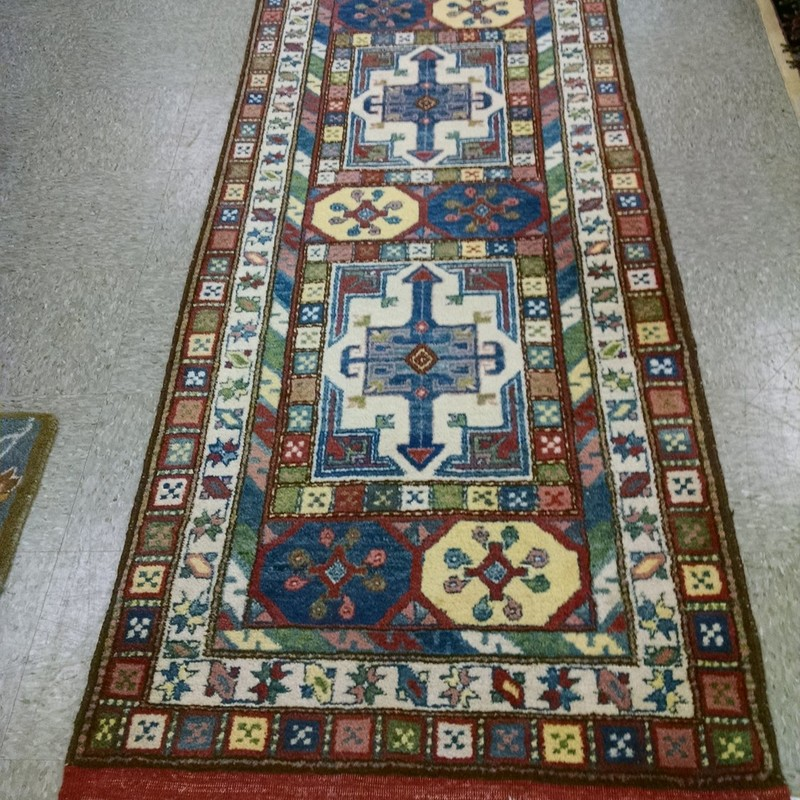 3x12 Handknotted Runner