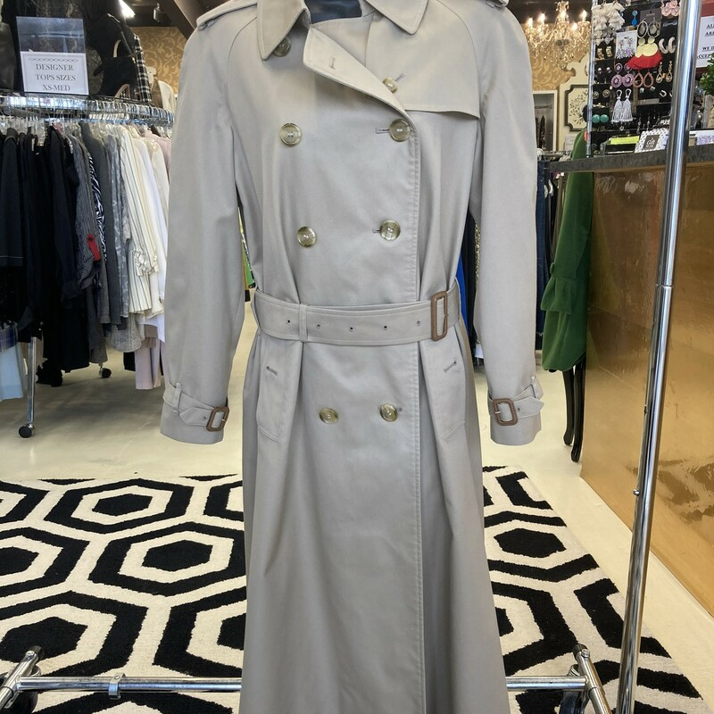 Burberry Long Trench Coat.
