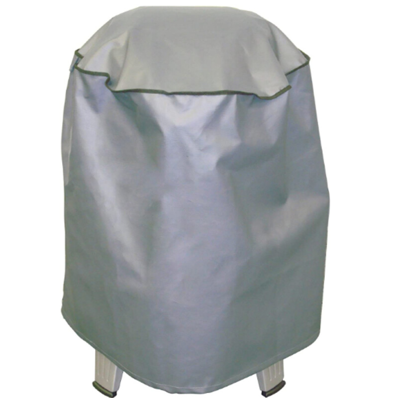 Roaster & Grill Cover<br /> NEW- Custom designed to be a perfect fit for Char-Broil's The Big Easy Smoker, Roaster & Grill<br /> Rugged heavy-duty grey PVC cover repels water, snow, wind, and assorted debris to keep your Big Easy safe and dry<br /> Internal woven polyester fabric inner lining protects cooker exterior from scratches<br /> Upper side vent prevents condensation from forming to keep your Big Easy 3-in-1 cooker dry<br /> Easily wipes clean with a damp cloth
