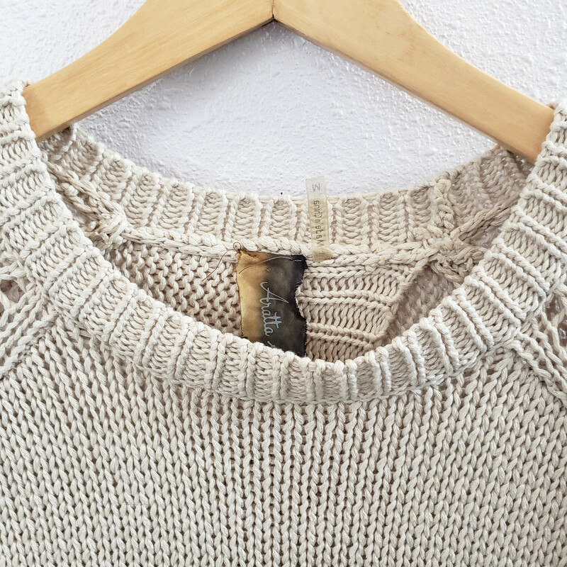 Aratta Silent Journey<br /> Tan Sweater<br /> Size Medium