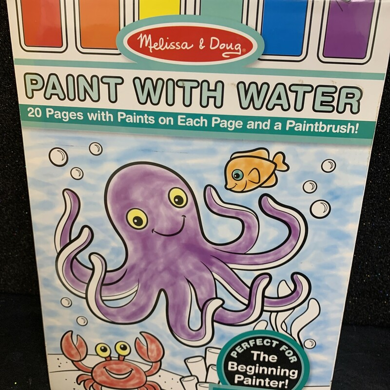 Paint With Water Ocean, 3+, Size: Arts