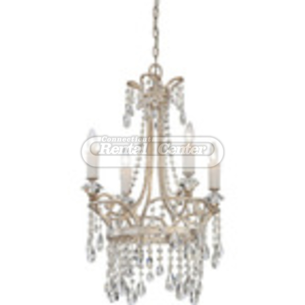 Rent Small Crystal Chandelier From CT Rental Center
