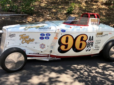 Scotty's Roadster- Owner Tom Cafro. Loring Timing Assoc XXF-BGR Record Holder