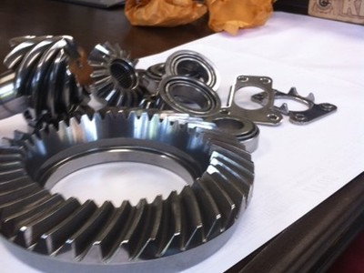 All the parts that can and should be finished. NEGP does it all , the Ring & Pinion, carrier and pinion bearings, posi springs and plates.