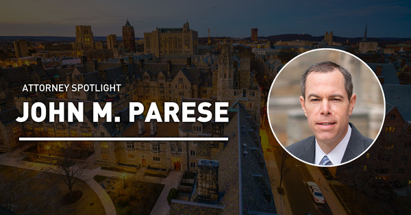 Attorney Spotlight: John M. Parese