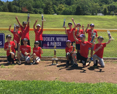 BWP's team, which Attorney Parese's son played on, was the 2018 North Branford Little League Champion.
