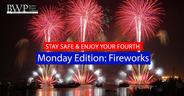 "BWP's ""Stay Safe & Enjoy your Fourth"" Monday's Edition: Fireworks"
