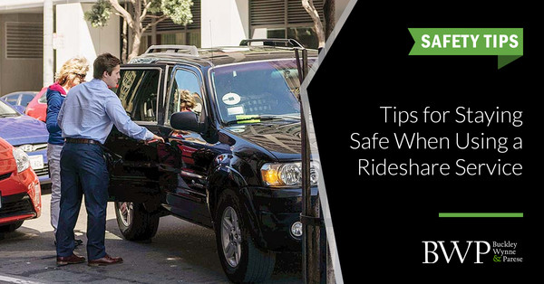 Tips for Staying Safe When Using a Rideshare Service