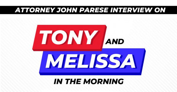 Attorney John Parese Interviewed on WICC Tony & Melissa In The Morning