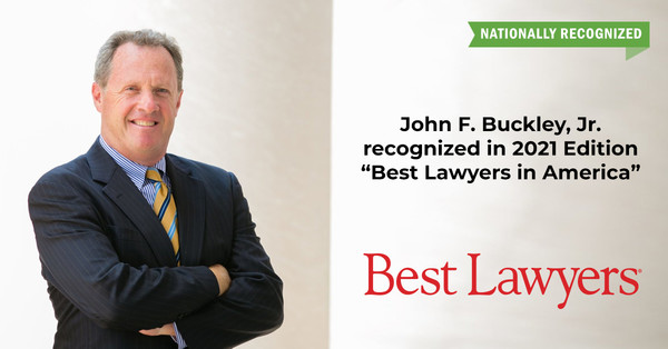 Attorney John Buckley Included in 2021 Edition of The Best Lawyers in America