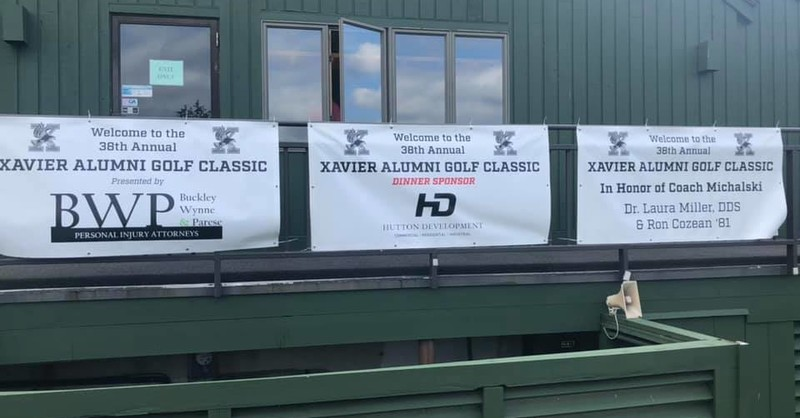 Buckley Wynne & Parese Sponsors the 2020 Xavier High School Alumni Golf Classic