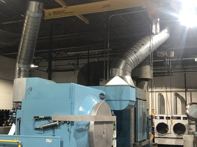Commercial Dryer Exhaust Projects.