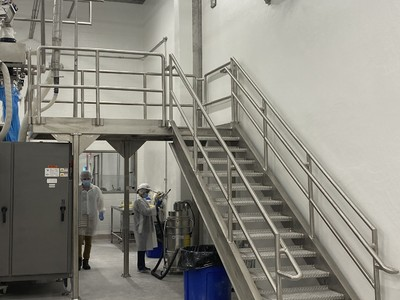 Food Grade Stainless Steel Access Platform & Stairs Projects.