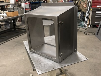 Stainless Steel Control Box Projects.