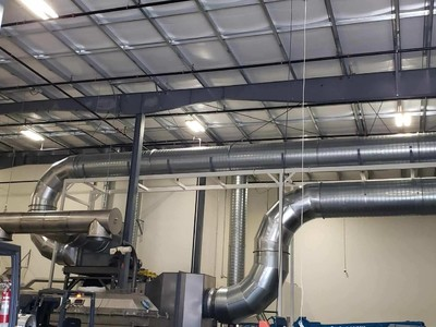 Food Processing Dryer Custom Ventilation Projects.