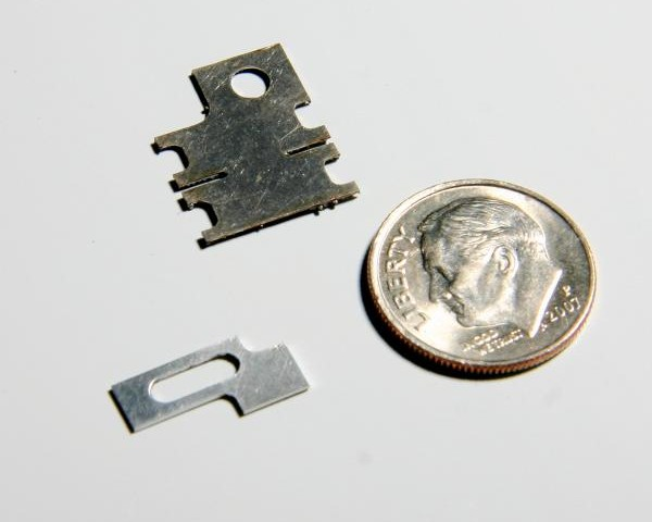 Miniature Laser Cut Parts.